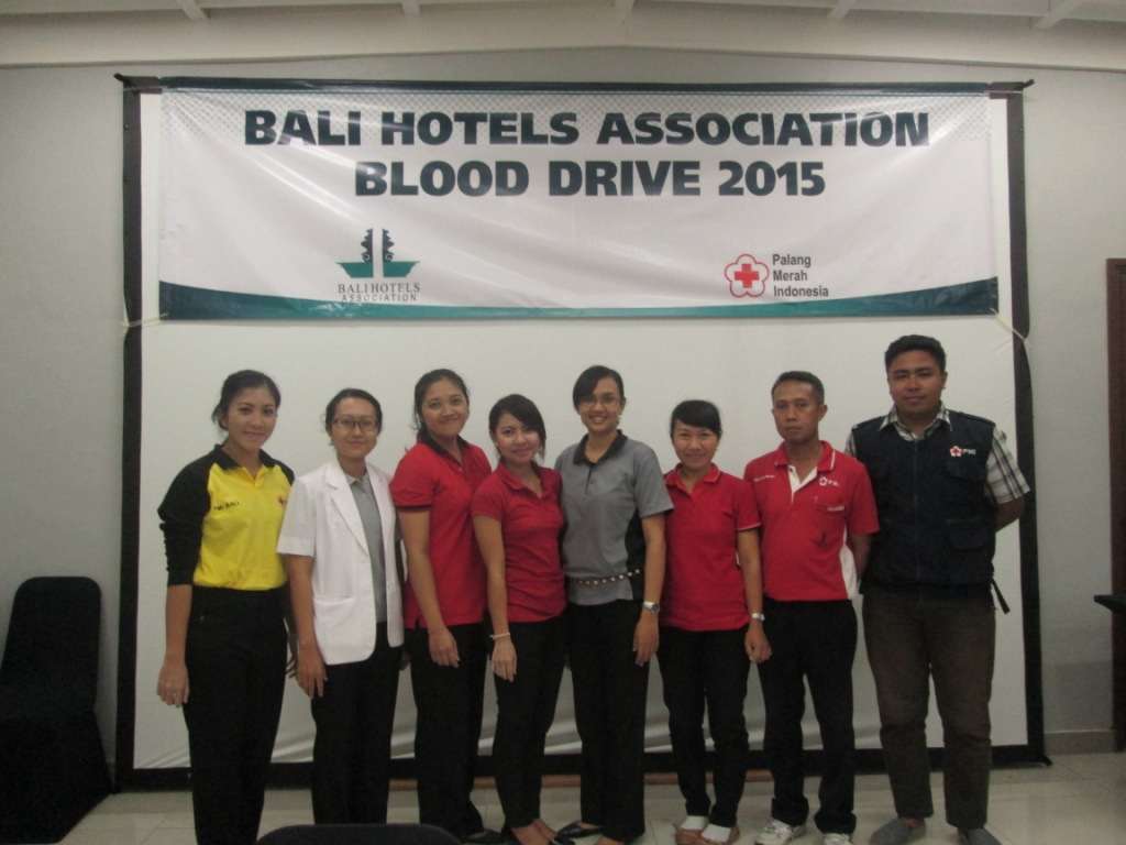 Bali Hotels Association S Blood Drive Bali Garden Beach Resort A