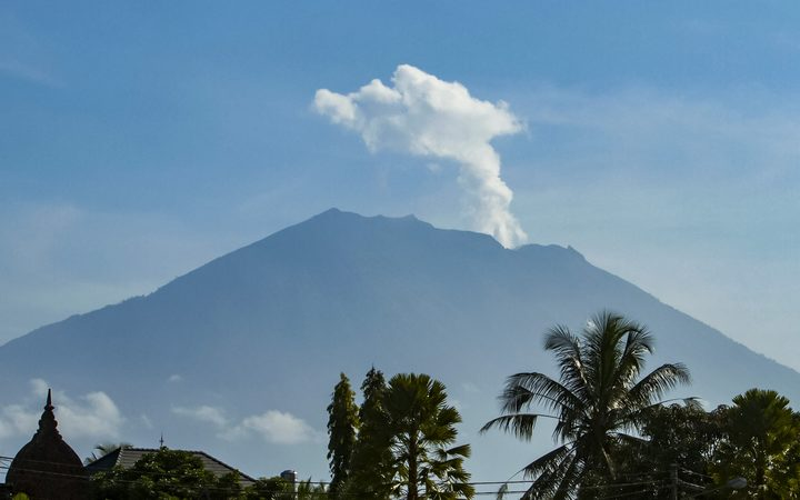 Mount Agung Alert Downgraded Update 2018 Bali Garden